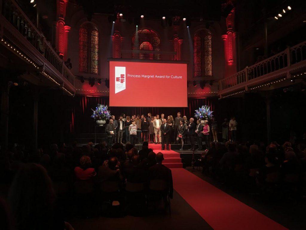 Preisverleihung / ECF PRINCESS MARGRIET AWARD FOR CULTURE 2017