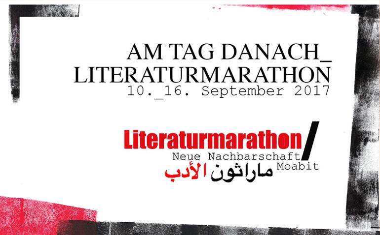 AM TAG DANACH_LITERATURMARATHON / 10.-17. September