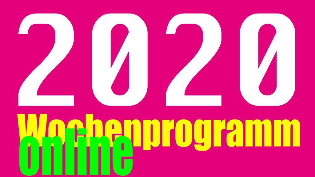 Unser online Programm