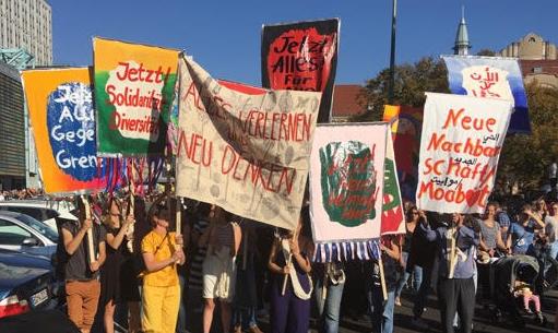 Jetzt! Alles! Für! Alle! / Demonstration#UNTEILBAR in Berlin