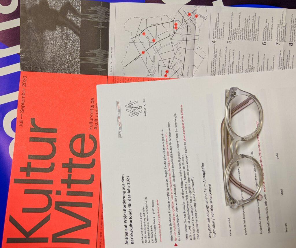 Kunst- und Kulturförderung / Beratung / 8. Oktober