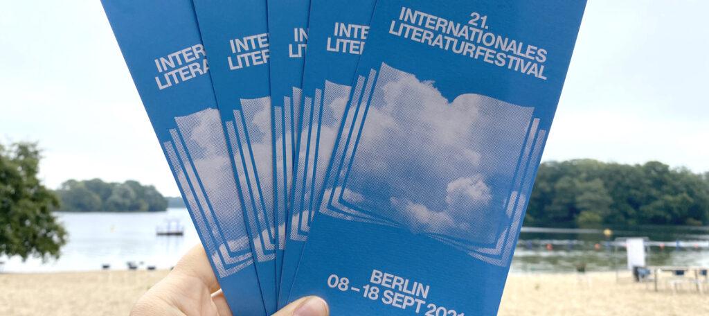 DAS INTERNATIONALE LITERATURFESTIVAL BERLIN ZU GAST IM STRANDBAD / Sonntag 12. September 2021